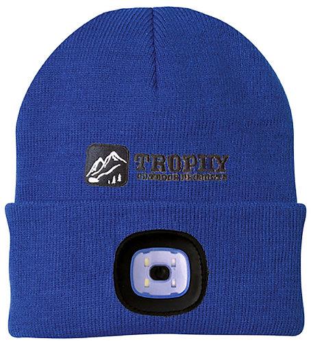 200 Lumen Rechargeable LED Knit Hat (Royal Blue)