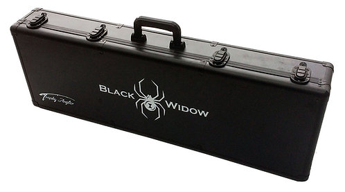 Black Widow Hard-Sided Ice Rod Case 36
