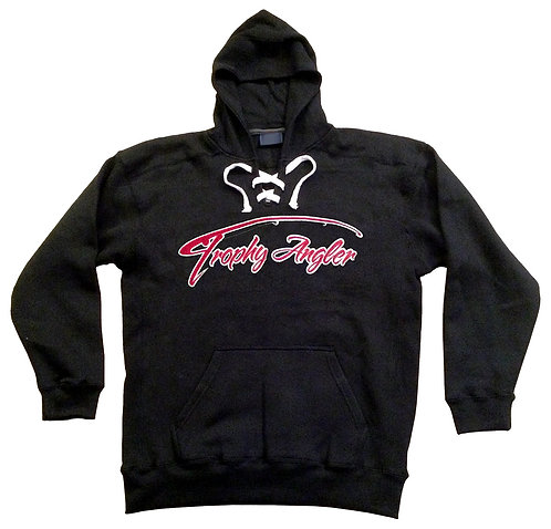 Trophy Angler Red Logo Sport Lace Hoodie