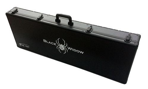 Black Widow Hard-Sided Ice Rod Case 45