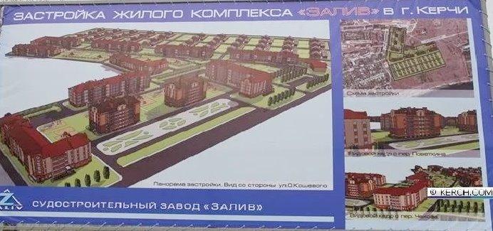 Застройка Жилого комплекса Залив в городе Керчи_edited