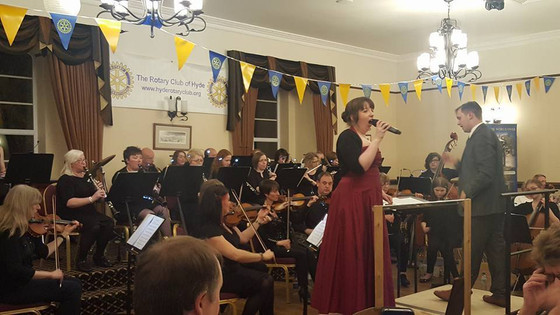 Last Night of the Proms with the Hyde Rotary Club