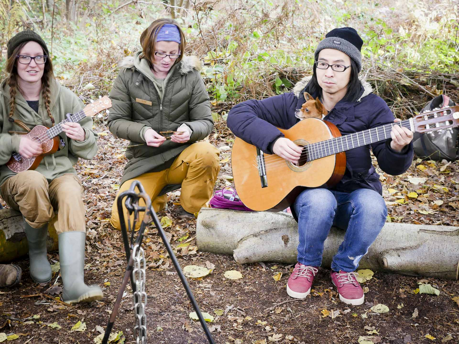 Campfire sing along