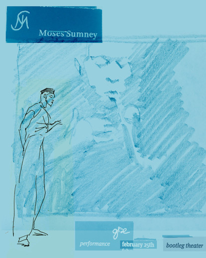 concert sketch: Moses Sumney