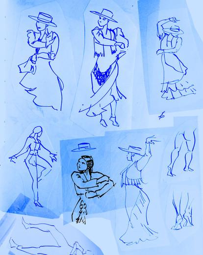 gestures: flamenco