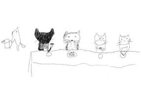 Cats' Tea Party