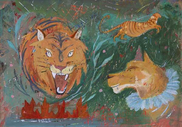 2018 Tiger in Limbo