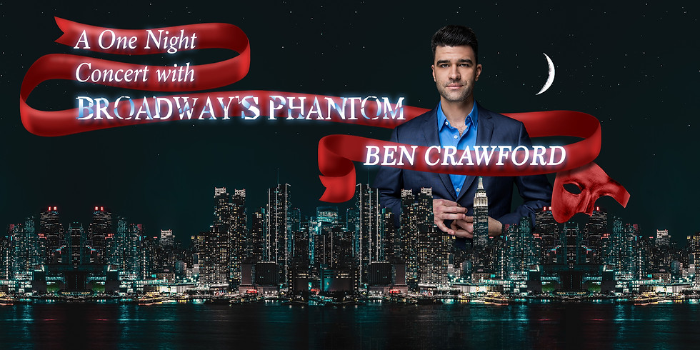 A One Night Concert with Broadway's Phantom: Ben Crawford