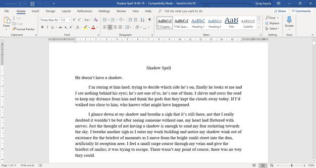 Writing Round Up Vol 3