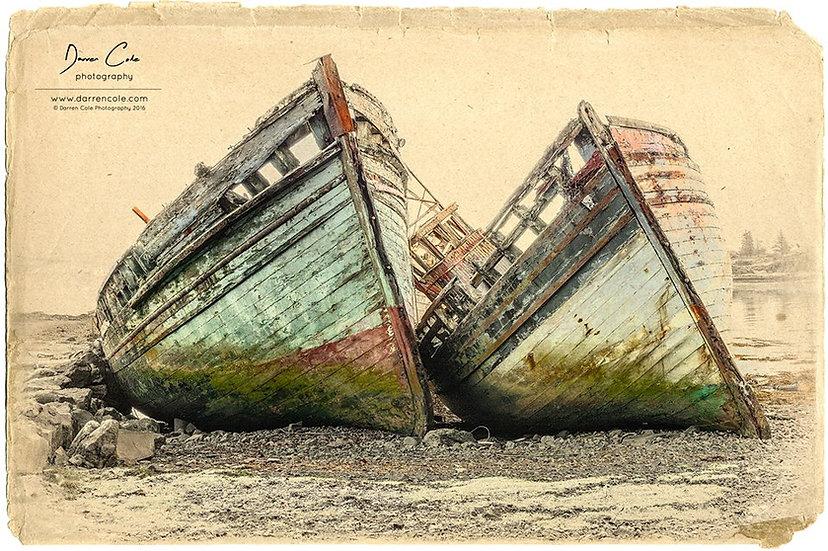 Salen Ship Wrecks - Isle of Mull