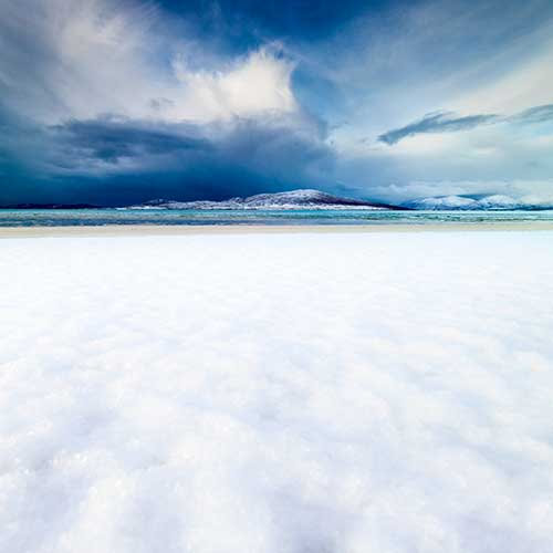 Snow, Sand, Sea and Sky