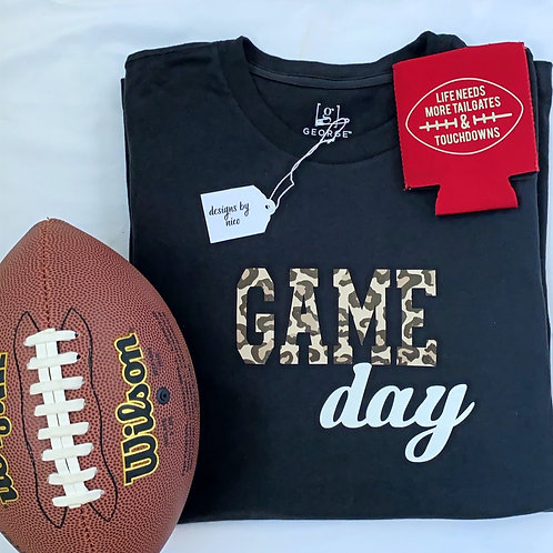 "Leopard ""Game Day "" Long Sleeve T-Shirt"