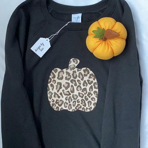 "Leopard ""Pumpkin"" Sweater"