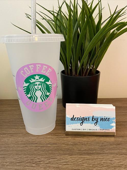 Custom Starbucks Venti Cup