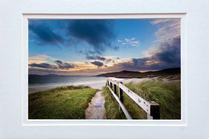 Hushinish Beach Sunset