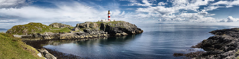 Scalpay Lighthouse Panorama