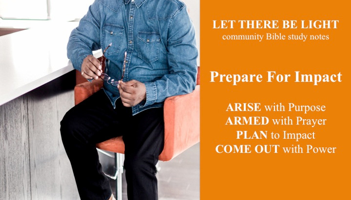 PREPARE FOR IMPACT: Bible Study Notes