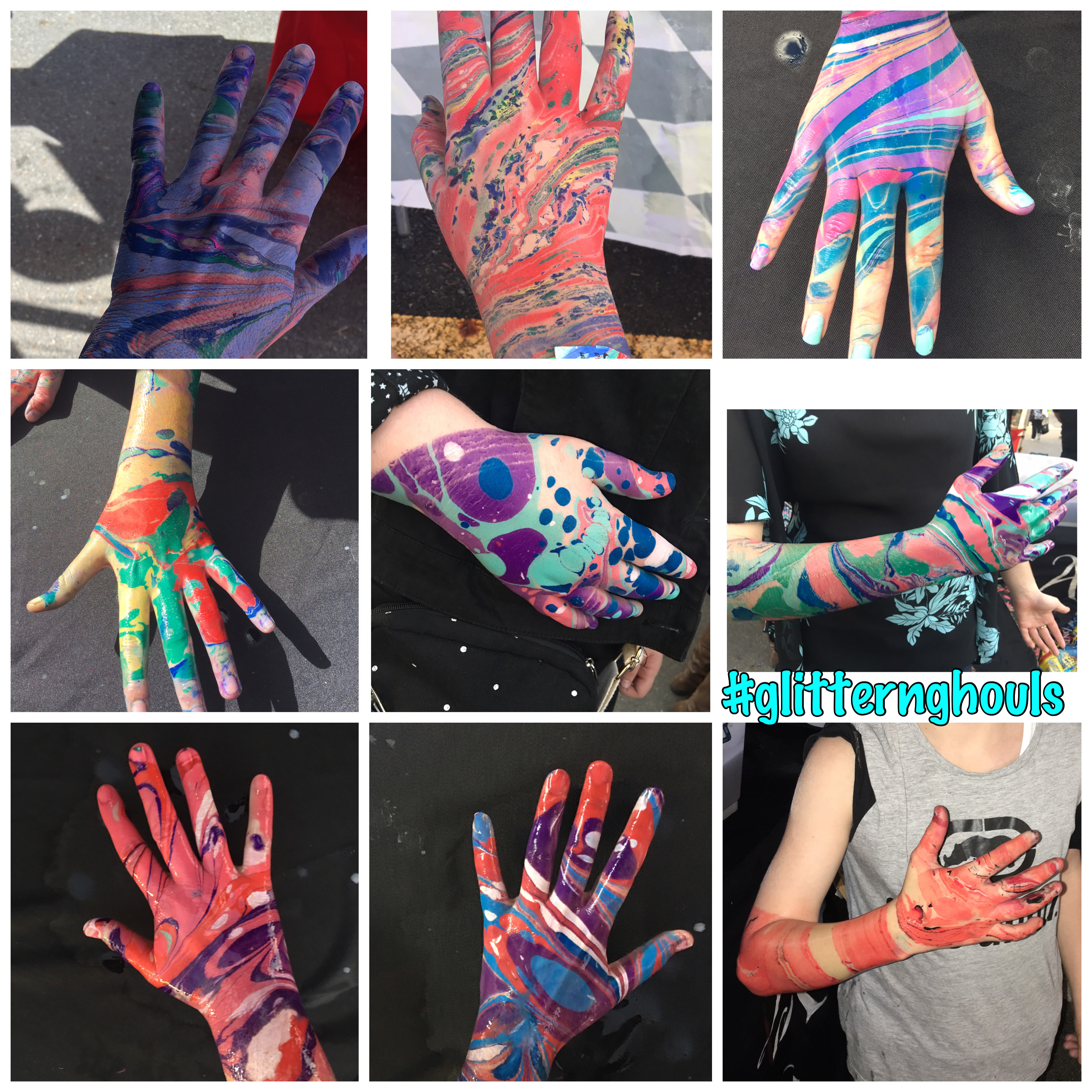 Body Marbling - 2 Hour Package