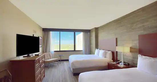 Double Queen Suite w/ Balcony