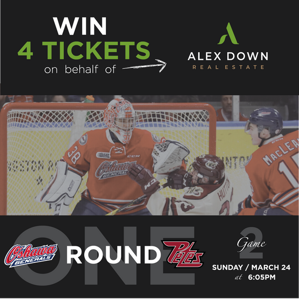 March Giveaway: Oshawa Generals