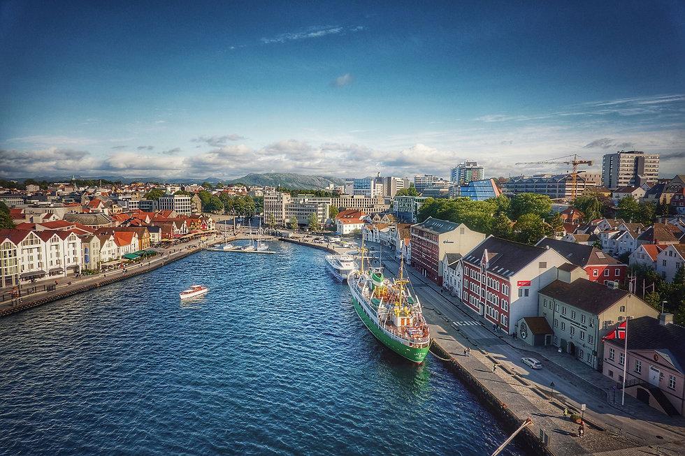 bilde av Stavanger hvor vi bemanner personlig trening på flere treningssentre