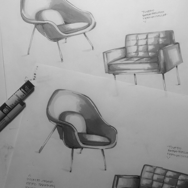 furniture renderings