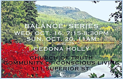 _FaveBALANCE_ series with Cedona Holly W