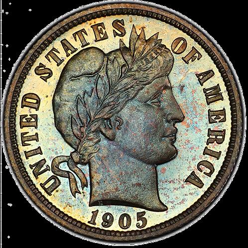 1905 10C PR67+ PCGS