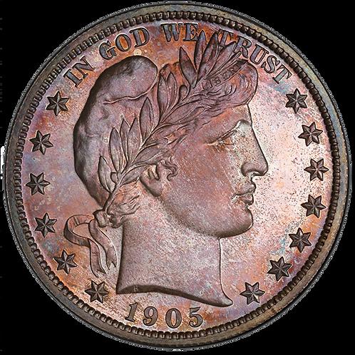 1905 50C PR67+ PCGS