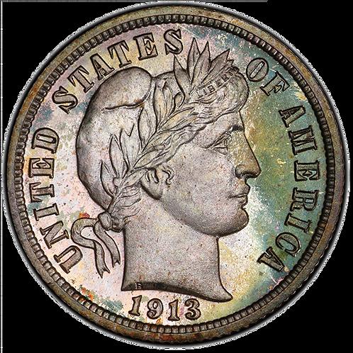 1913 10C PR67+ PCGS