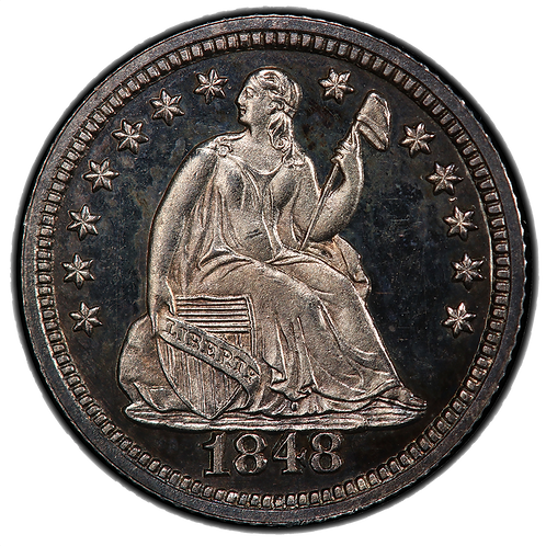 1848 Seated Liberty Half Dime Proof PR66CAM PCGS with CAC