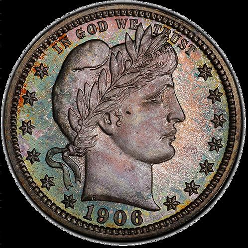 1906 25C PR67+ PCGS
