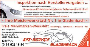 Rose KFZ Meisterwerkstatt Gladenbach