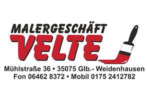 Maler_Velte Malerbetrieb Weidenhausen