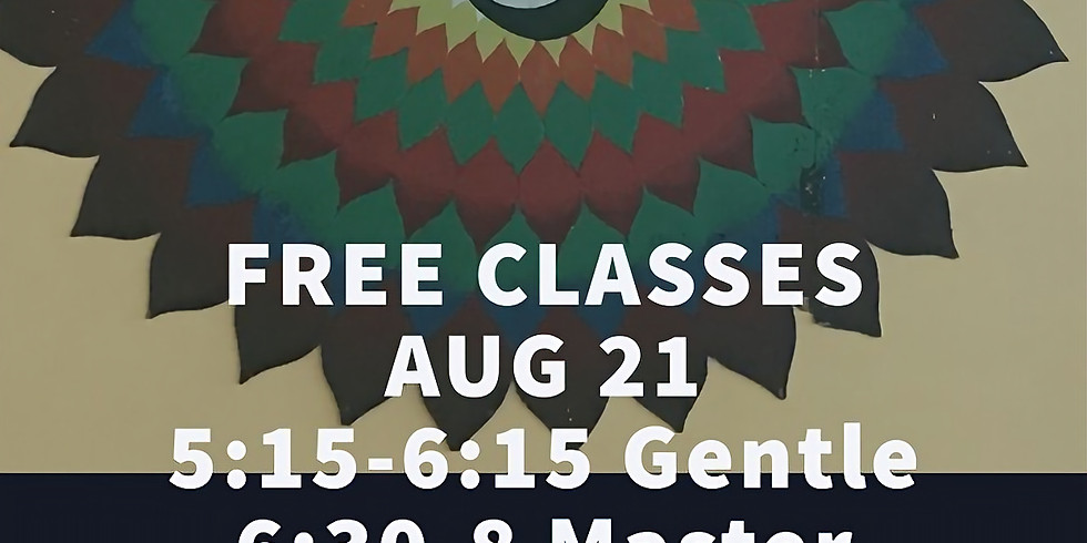 Free Classes 2 Year Anniversary Celebration