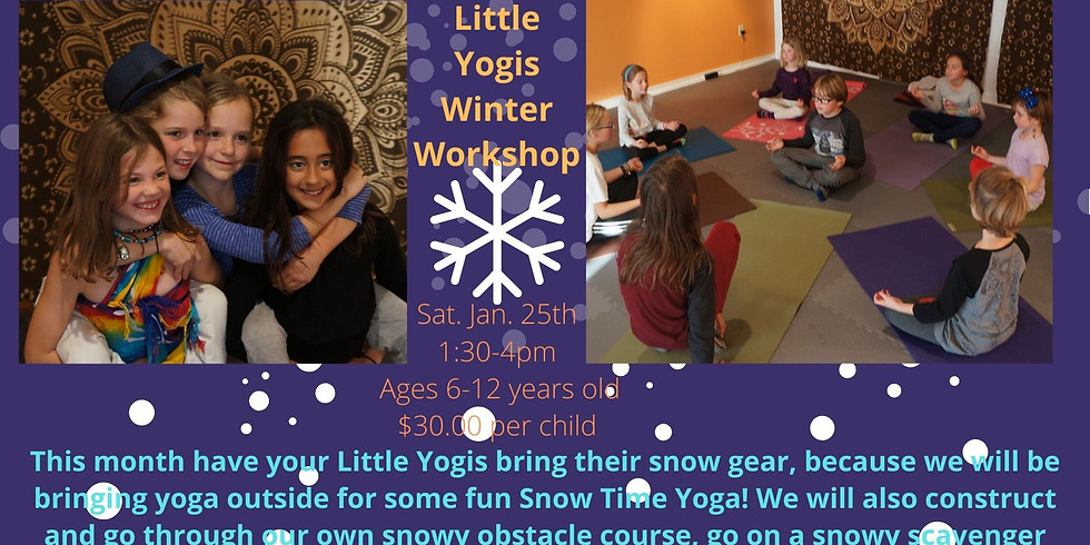 Little Yogis Winter Workshop