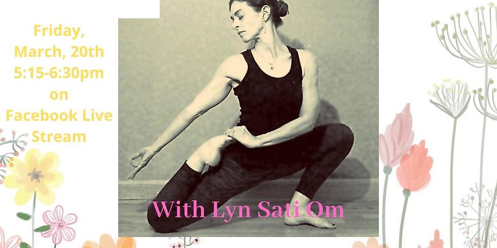 Live Virtual Yoga Class