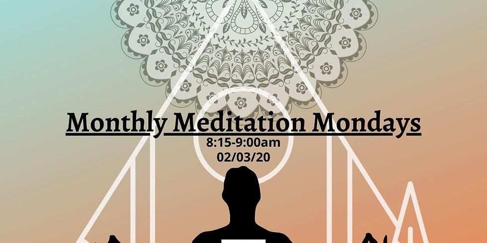 Monthly Meditation Mondays