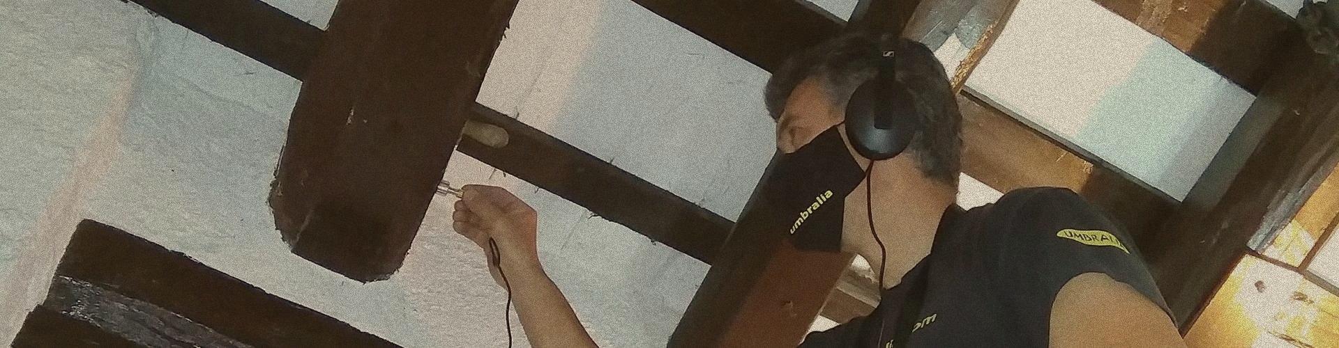 inspección vigas de madera Barcelona