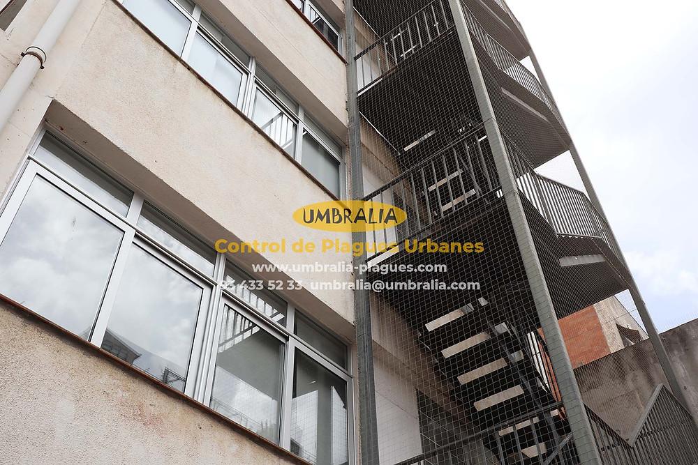 xarxes anti-coloms Barcelona