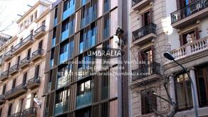 > Intervenció puntual a façana principal amb treballs verticals