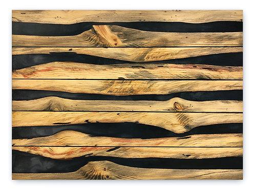 Wood and Epoxy Wall Hanging