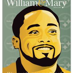 Magazine Cover Design with original illustration