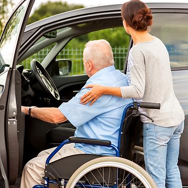 Aide mobilité et transport Services à la personne Vendée Les Herbiers Saint Fulgent Les Epesses Vendrennes Sèvremont