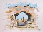 Porta de la muralla romana d'Emporiae