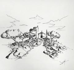 Torre i ermita de Sta. Bàrbara