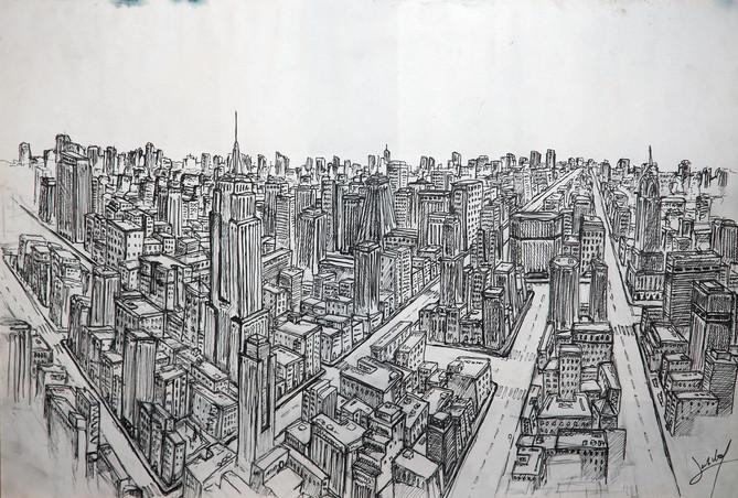 Esbós basat en Manhattan