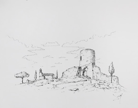 Torre i ermita de Sant Joan -1910-