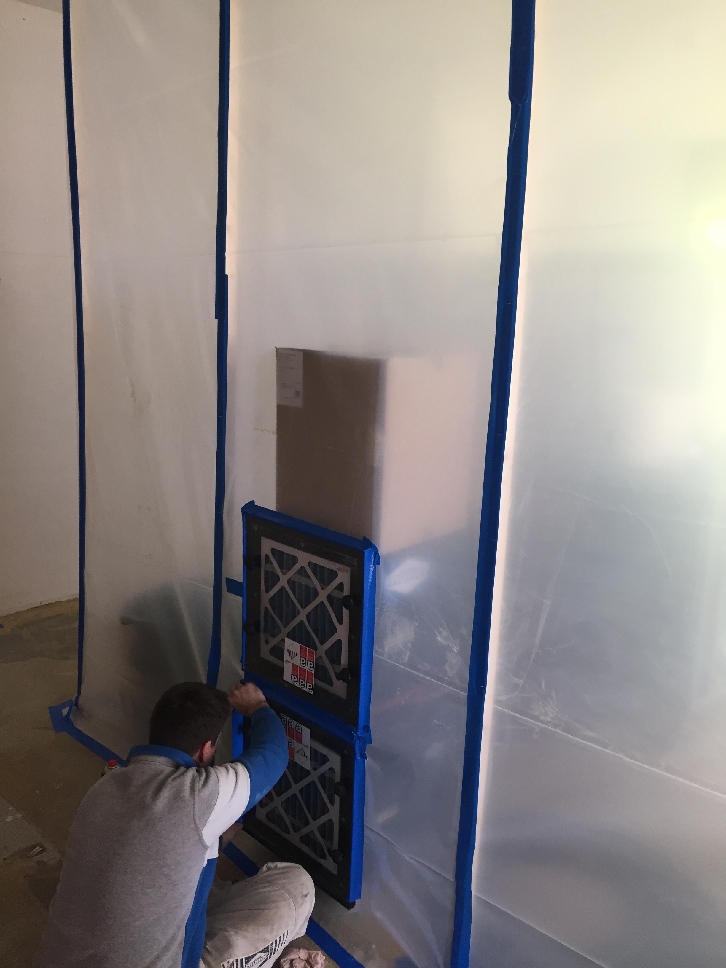 Installation Unterdruckhaltegerät