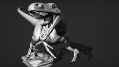 Unfeathered Utahraptor